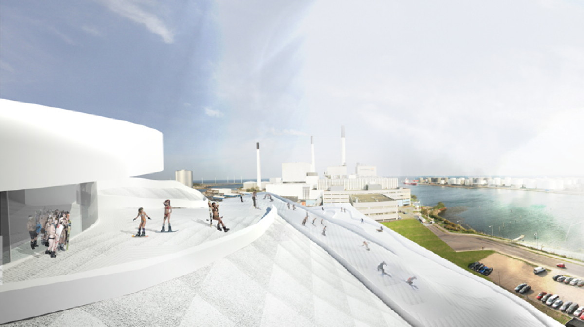 ... Architect Bjarke Ingles Combining Energy Plant with a Downhill Ski